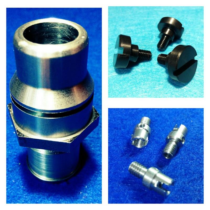 Detalle mecanizado acero