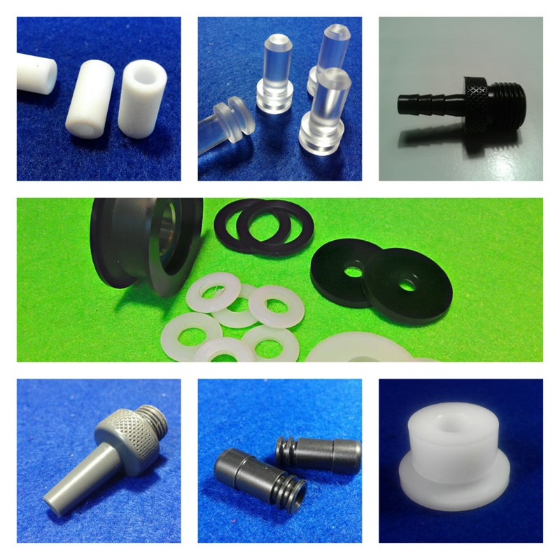 Detalle mecanizado materiales plásticos