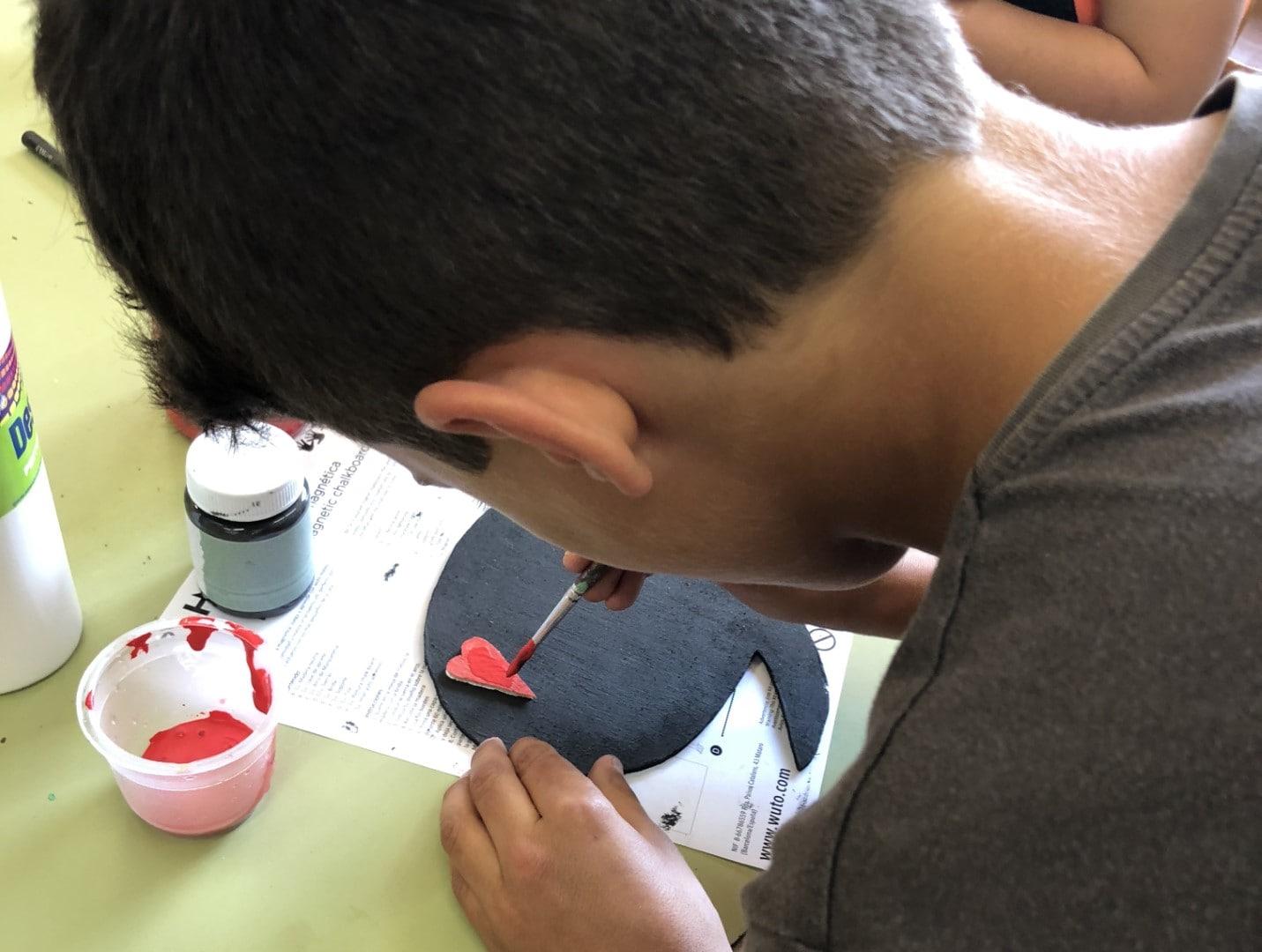 14 pintar taller manualidades