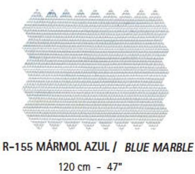 R-155 Mármol Azul