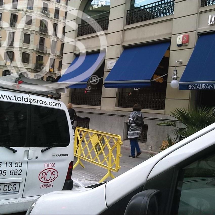 Restaurante Lomoalto - Toldos ROS