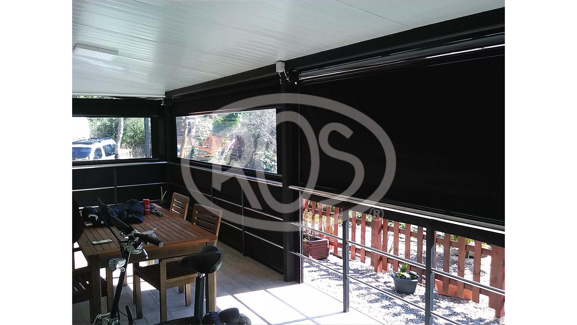 Instalación en Camping Tossa de Mar - Toldos ROS
