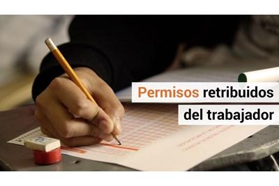 ¿Qué son las licencias o permisos que puede pedir el trabajador?