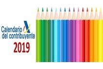 Calendario del contribuyente: enero 2019