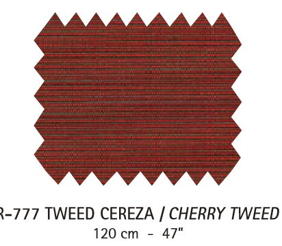 R-777 Tweed Cereza