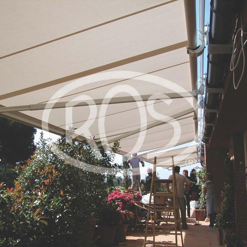 Terraza particular en Barcelona - Toldos ROS