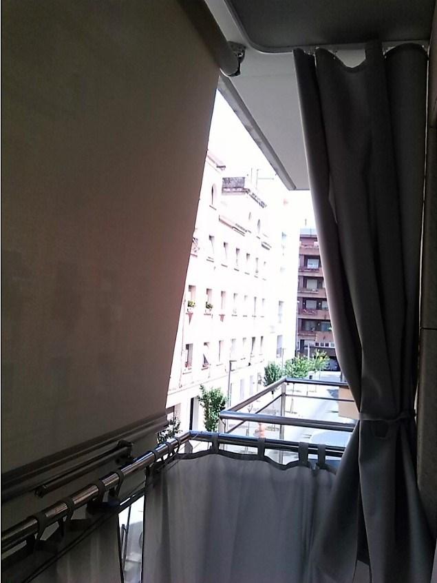 Balcón particular en Barcelona - Toldos ROS