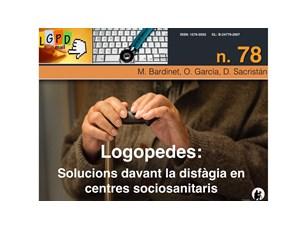 Logopedes: Solucions davant la disfàgia en centres geriàtrics