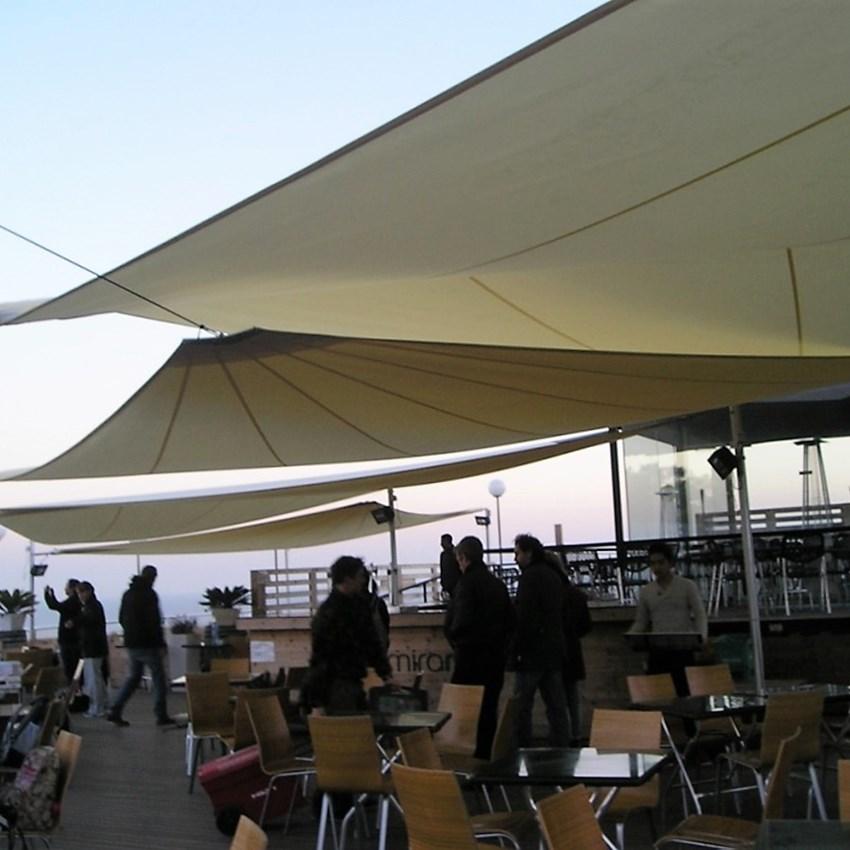 Terraza Restaurante Miramar - Toldos ROS