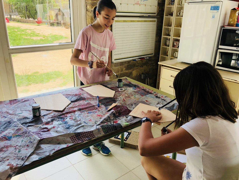 26 chalk paint niños