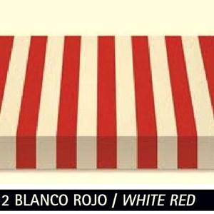 R-012 Blanco Rojo