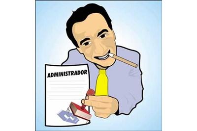 El administrador puede ser responsable