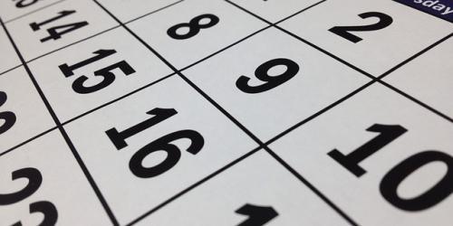 Publicado el calendario de fiestas laborales para 2020.