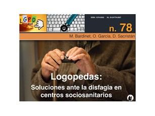 Logopedas: Soluciones ante la disfagia en centros geriátricos