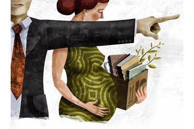 El despido de la mujer embarazada