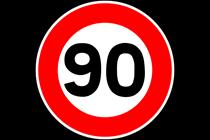 Entra en vigor la reducción de velocidad a 90km/h en carreteras convencionales.