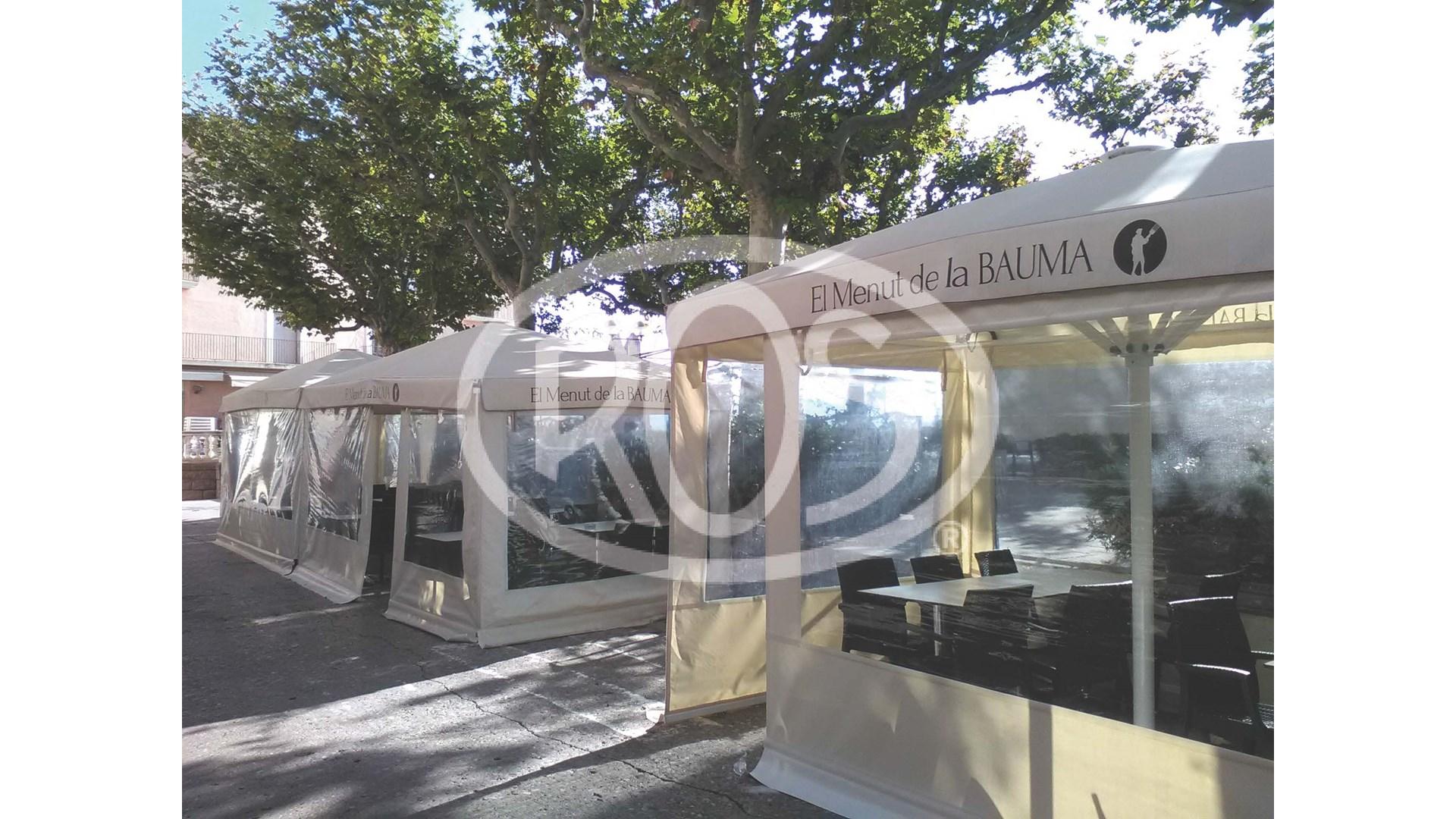 Restaurante La Bauma - Toldos ROS